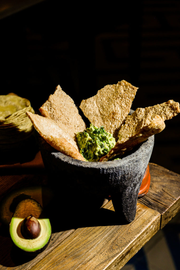 Chicharrón Fresco con Guacamole