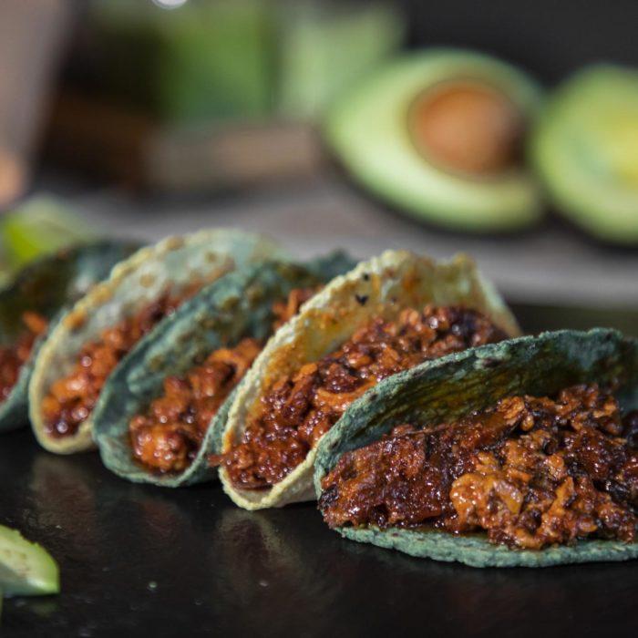 Tacos de Chicharrón Guadiana